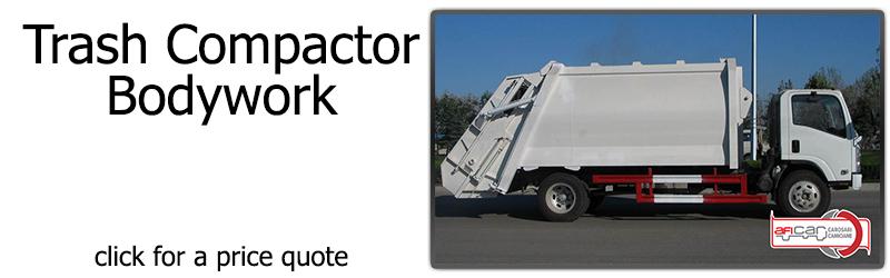 12 - trash compactor truck